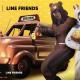 『PUBG MOBILE』で「ブラウンセット」「コニーセット」「UAZ(ブラウン)」など「LINE FRIENDS」のアイテムが登場!
