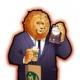 ラクジン、『戦国パズル!!あにまる大合戦』が「アフリカのサラリーマン」のライオン先輩とのコラボキャンペーンを開催