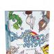 ホビージャパン、サイコロの目で決められたお題を「直線」と「正円」だけで表現するお絵かきゲーム 「みんなでぽんこつペイント」を9月28日より発売