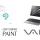 セルシスの「CLIP STUDIO PAINT」がVAIOの新モデルのプリインストールソフトして採用