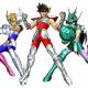 バンナム、『聖闘士星矢 シャイニングソルジャーズ』のOBTを開始!! コマンド選択式のターン制バトル