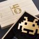 タイトー、『スペースインベーダー』誕生40周年を記念した純金製(K24)「黄金のインベーダー」などの商品を発表