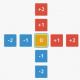 ピコラ、中心のパネルに「0」を作る脳トレパズルゲーム『0 -zero-』を配信開始