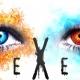 【PSVR】斑鳩のようなシステム? 火と氷を使ったSTG『DEXED』のPVが公開…敵の属性を突きながら美しい世界を進んでいこう