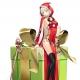 KADOKAWA、『感染×少女』が12月15日よりクリスマスイベントを開催 「樽神名アド」と「三静寂礼音」がサンタ姿でガチャに登場!