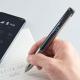 キングジム、スマートボールペン『インフォ』INF10を6月に発売 電話着信、メール、LINE通知などをバイブや小型液晶でお知らせ