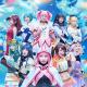 舞台「マギアレコード 魔法少女まどか☆マギカ外伝」のメインビジュアルが解禁! 魔法少女に扮した10名のメインキャストが勢揃い!