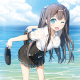 セガゲームス、『アンジュ・ヴィエルジュ~ガールズバトル~』で「美海の1番長い夏」開催 描き起こし水着姿の「UR 日向美海【水着】」をゲットだ!