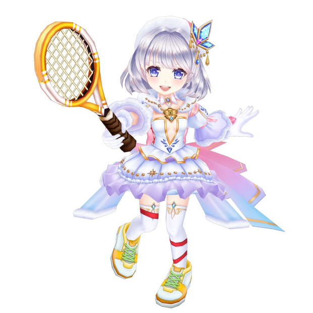 白 猫 テニス ヨナ