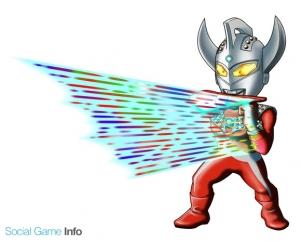 バンダイナムコゲームス ウルトラマン パズル魂 のレアガシャに ウルトラマンタロウ を追加 黄属性の出現率が大幅upするキャンペーンも Social Game Info