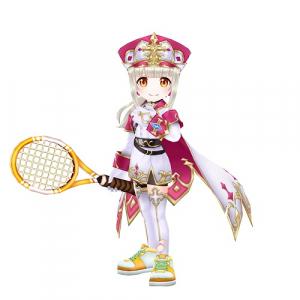 猫 初心者 ミッション テニス 白