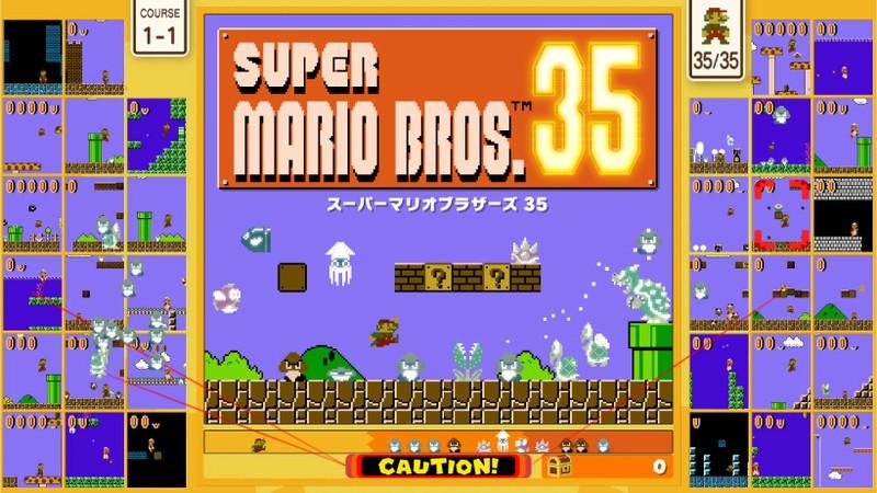 任天堂、バトロワ形式のマリオ『SUPER MARIO BROS. 35』を10月1日に無料配信! Nintendo Switch  Online加入者向けに | Social Game Info