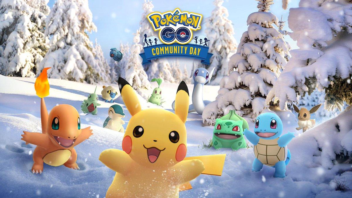 nianticとポケモン、『pokémon go』で「コミュニティ・デイ」を12月1日