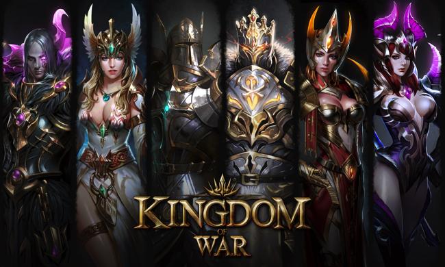 6c709f6a48abe ゲームヴィルジャパンは、 新作のスマートフォン向け王国繁栄謳歌RPG『キングダムオブウォー』を、本日7月12日に配信を開始したことを発表した。