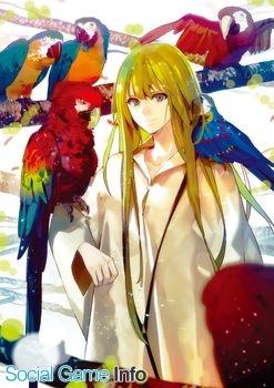 「『Fate/Grand Order』B2タペストリー(エルキドゥ)」 森井しづき氏描き下ろし。英雄王ギルガメッシュの唯一無二の朋友、エルキドゥの イラストを使用したB2