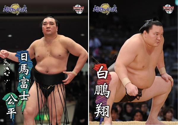 『大相撲カード決戦』カード画像